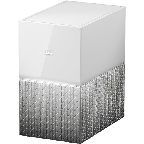 Western Digital WD My Cloud Home Duo Personal Cloud Storage - 2 x HDD  Supported - 2 x HDD Installed - 16 TB Installed HDD Capacity - 1
