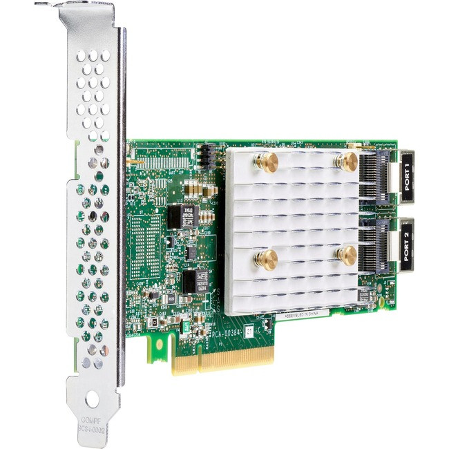 HP Smart Array E208i-p SR Gen10 Controller - 12Gb/s SAS, Serial ATA/600 -  PCI Express 3 0 x8 - Plug-in Card - RAID Supported - 0, 1, - 804394-B21