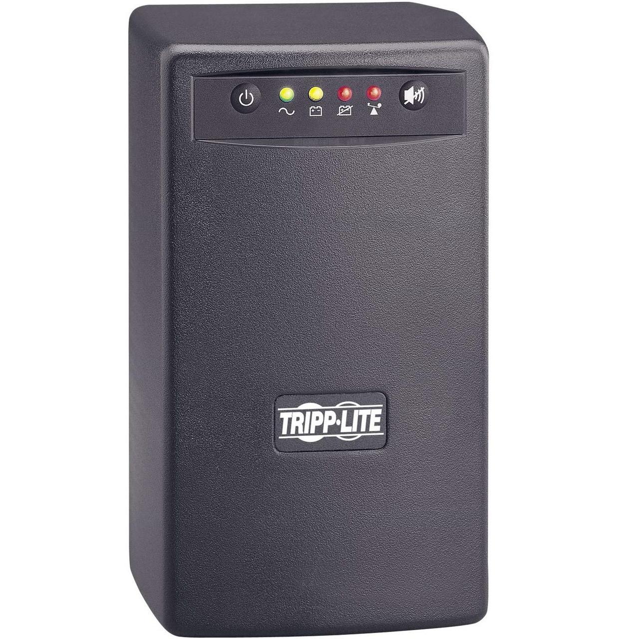 Tripp Lite UPS 700VA 350W Desktop Battery Back Up AVR Compact 120V USB RJ11
