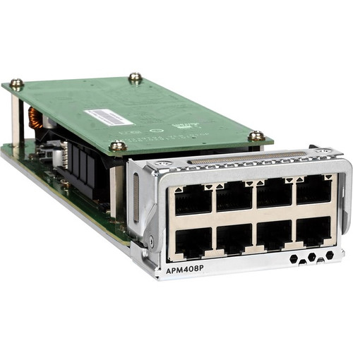 Netgear 8x100M/1G/2 5G/5G/10GBASE-T PoE+ Port Card - APM408P-10000S