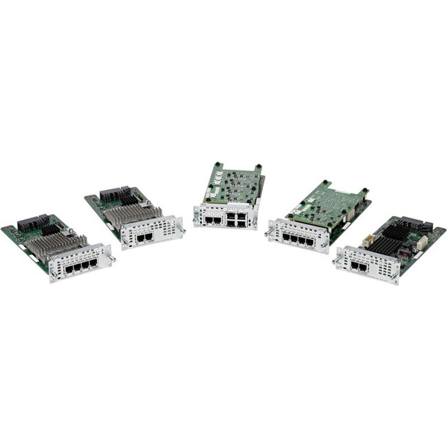 **** Cisco VIC2-4FXO 4-Port Voice Interface Card Module