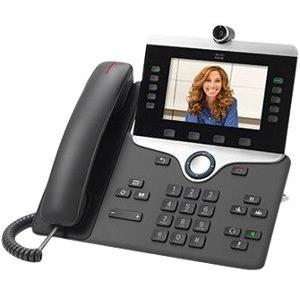 Cisco 8865 IP Phone - Refurbished - Wired/Wireless - Bluetooth, Wi-Fi -  Wall Mountable - Charcoal - CP-8865-K9-RF