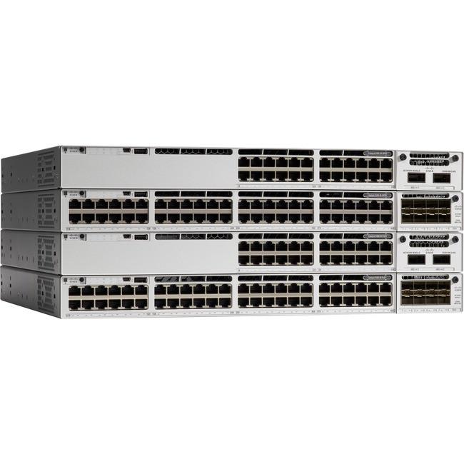 Cisco Catalyst 9300 Switch w/ Network Advantage - 24 x 10/100/1000 PoE+  (445 W) - C9300-24P-A
