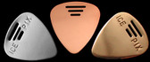 Metal Picks Tube  - 3 Alloys - 5 Styles - 3 Gauges