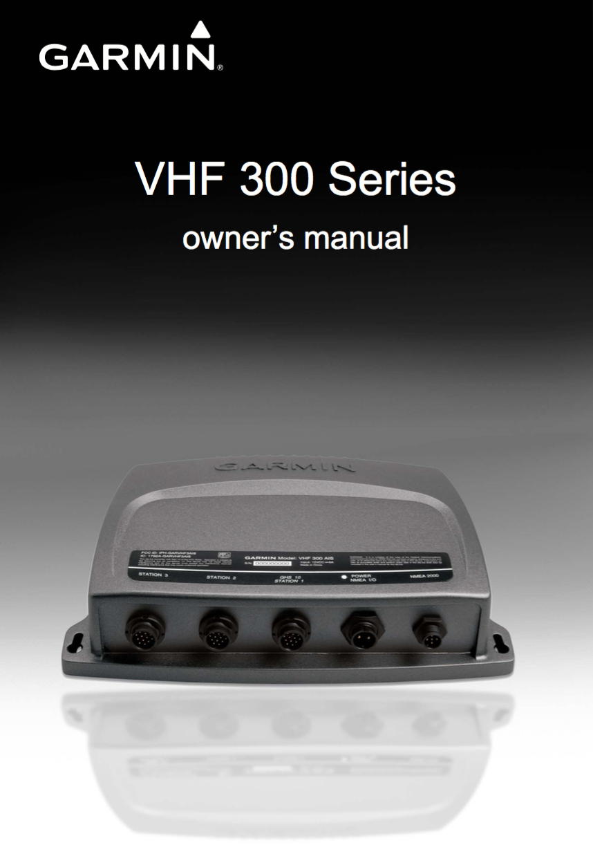 300 vhf owners manual
