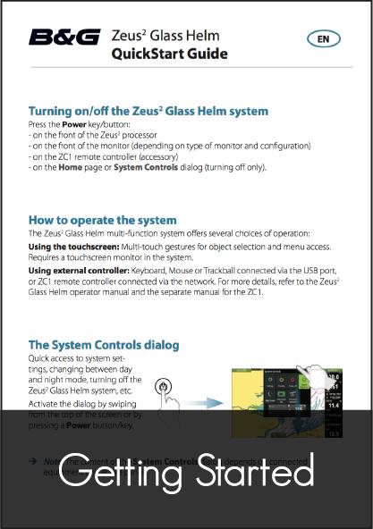 b g zeus glass helm quick start