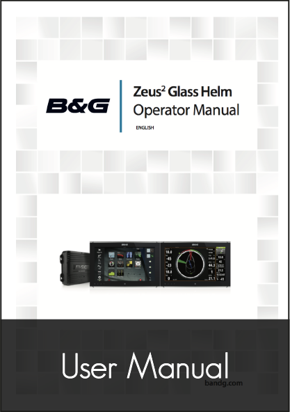 Zeus2 Glass Helm Operator Manual sw release 3 0