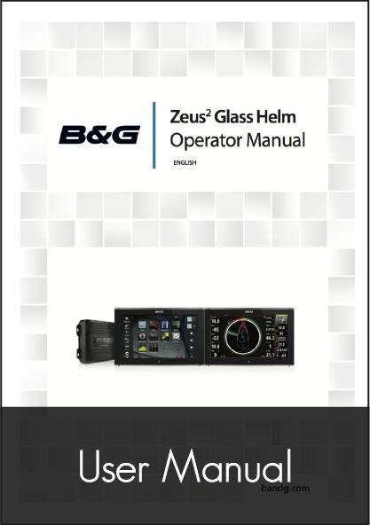 b g zeus glass helm user manual