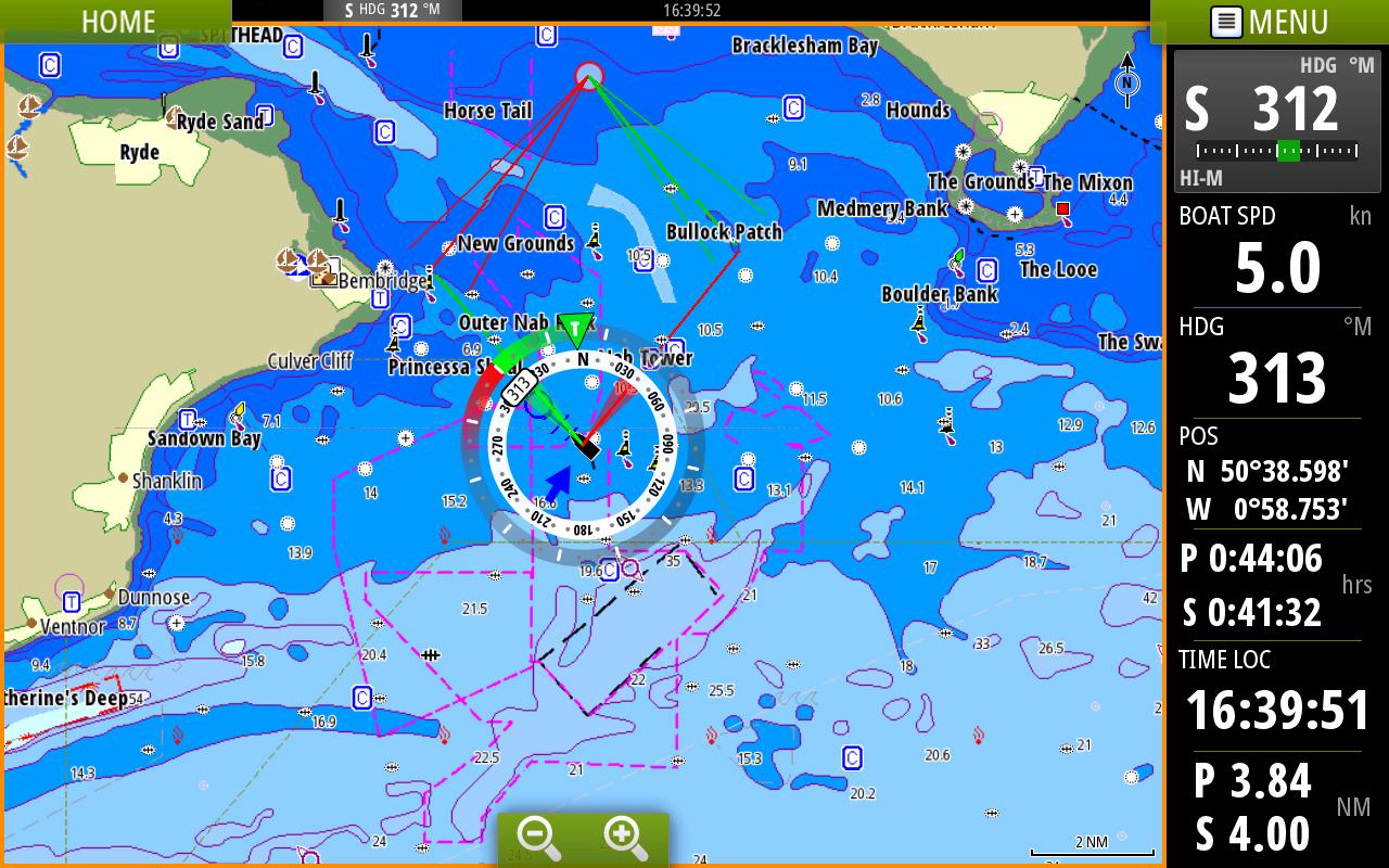 cmap sailsteer overlay chart emea b g vulcan 7 screenshots