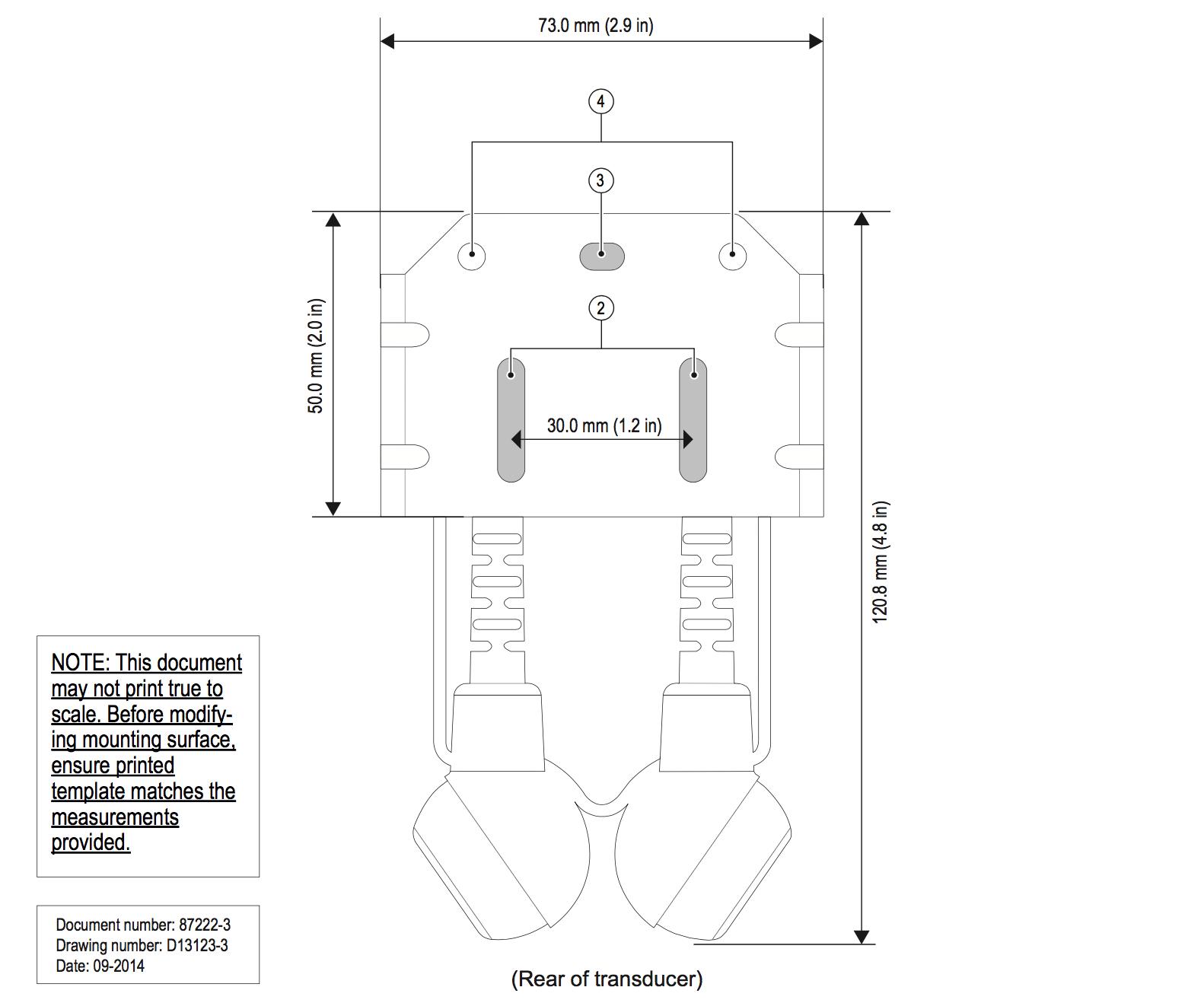 Raymarine CPT-200 Chirp Transducer