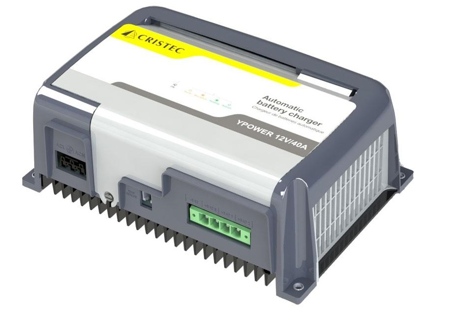 cristec ypower 12 40 marine battery charger