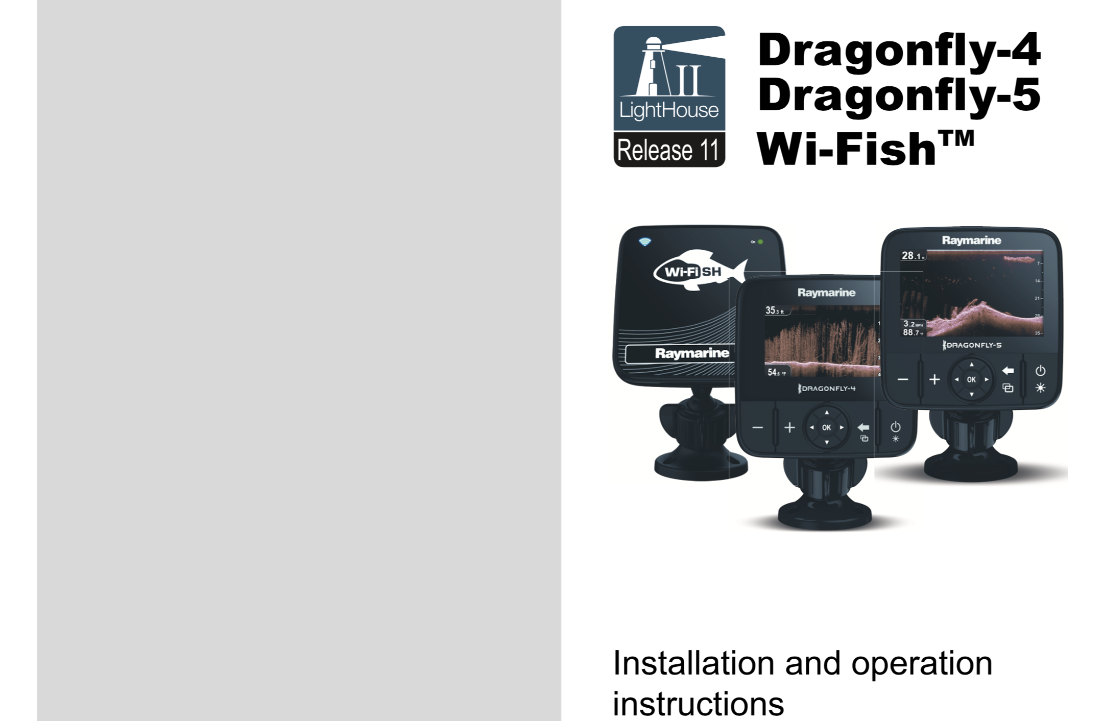 dragonfly 4 5 wi-fish installation operating instructions