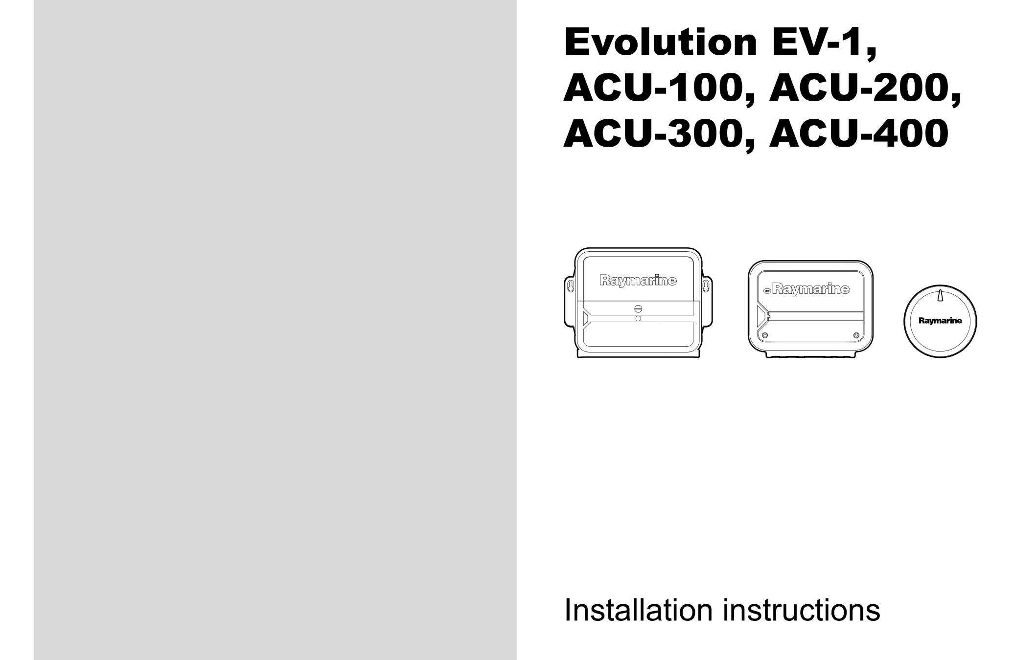 ev1 acu-100 200 300 400 installation instructions
