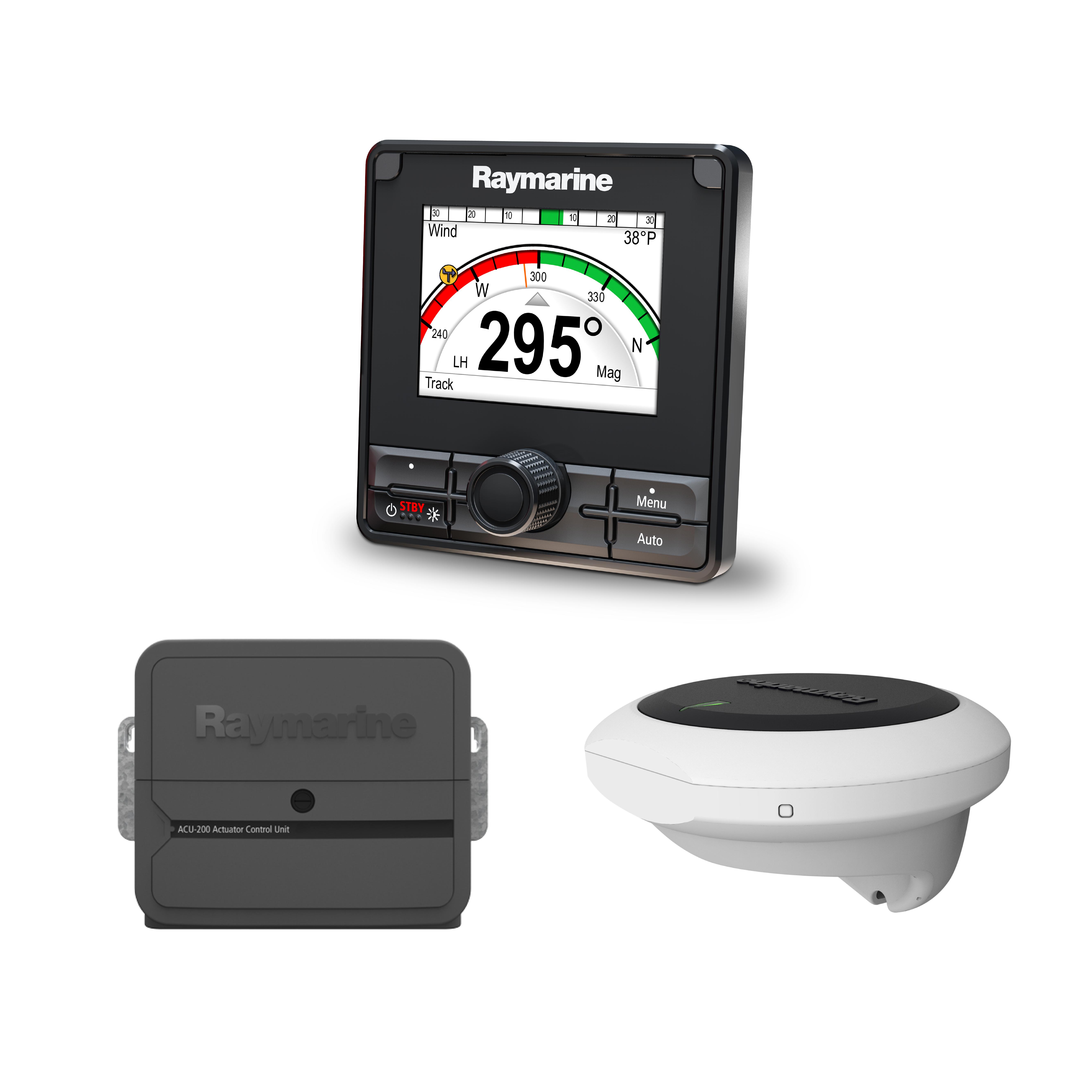 evolution autopilot p70rs control head ev 1 sensor core acu 200