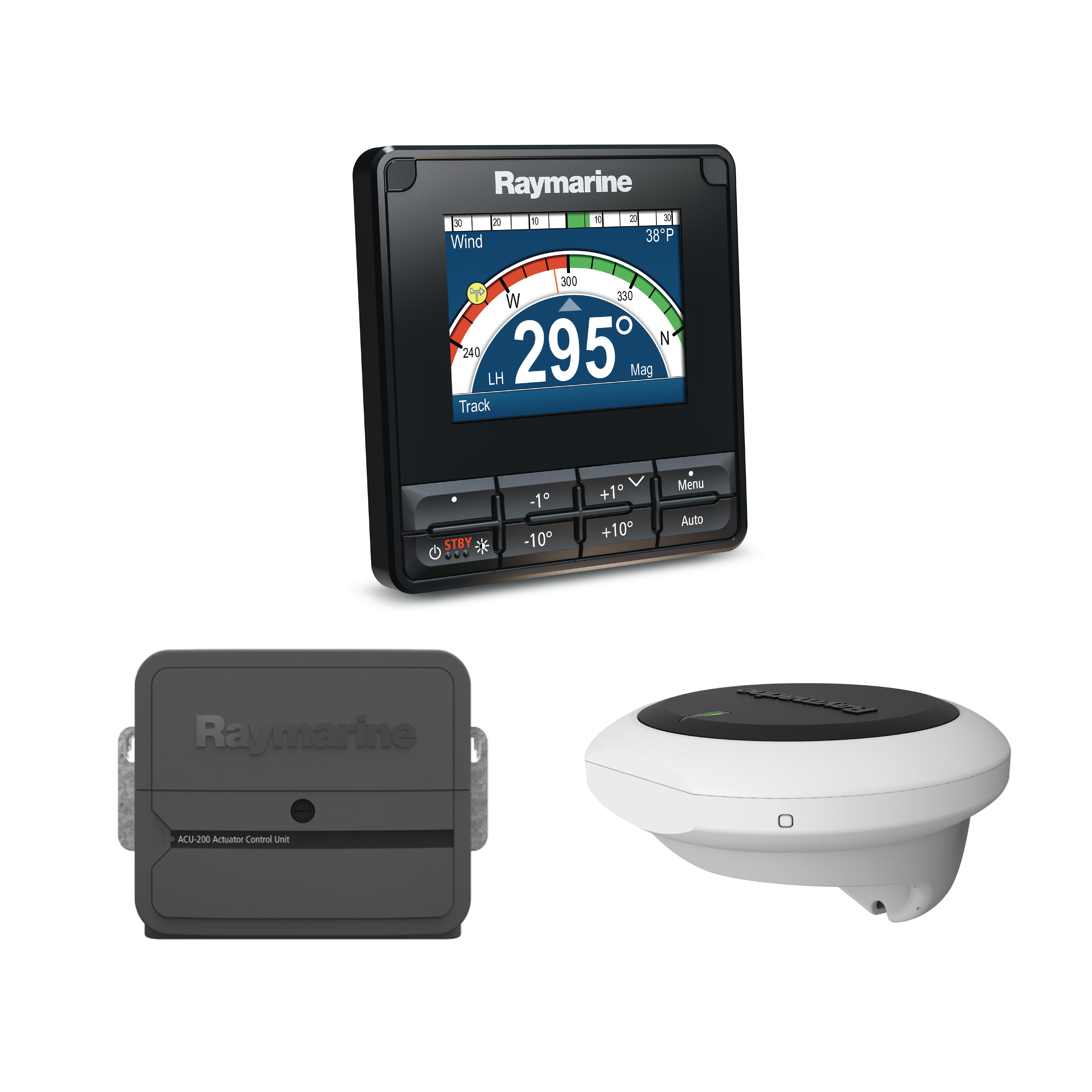 evolution autopilot p70s control head ev 1 sensor core acu 200