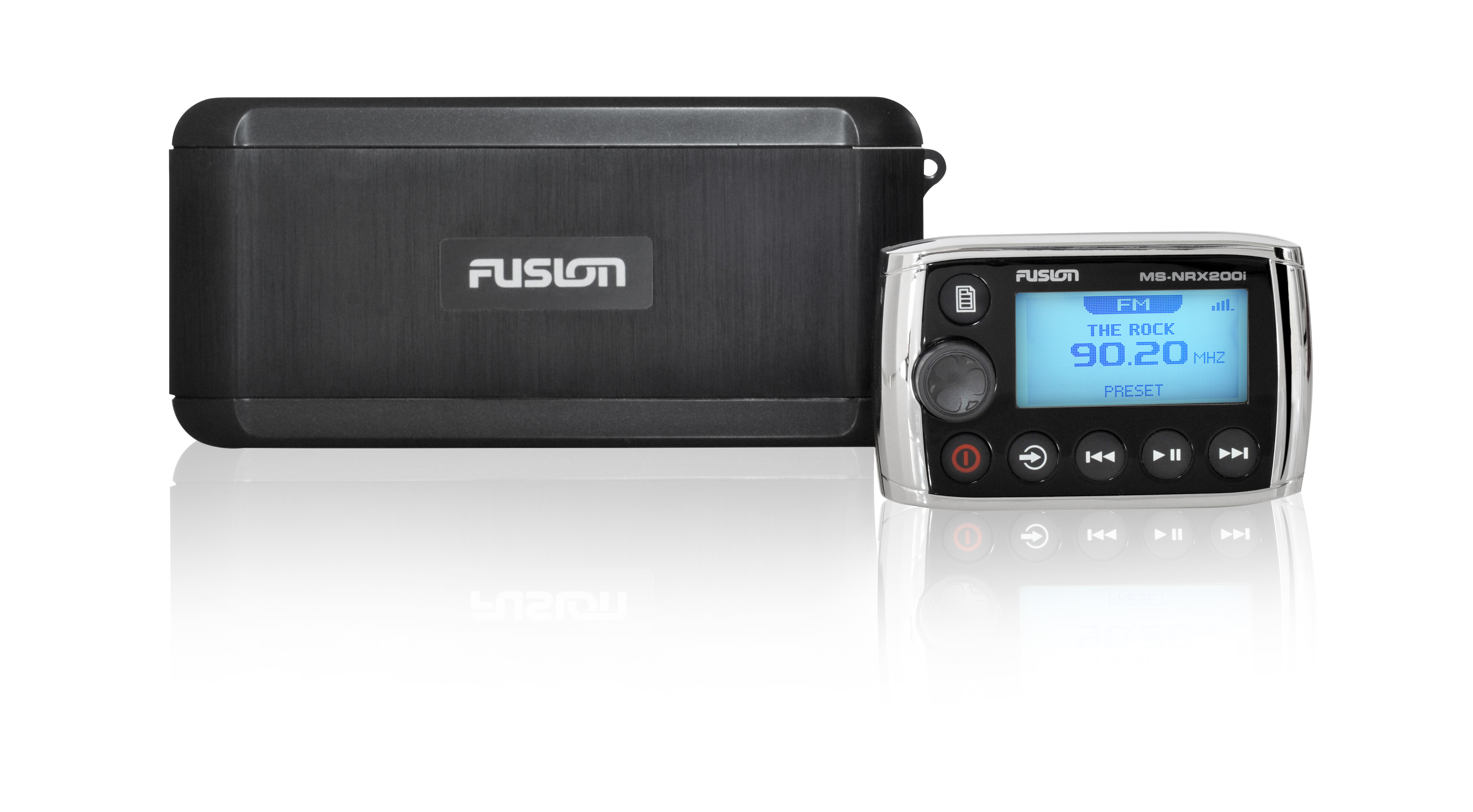 fusion bb300 black box stereo unit with wired remote