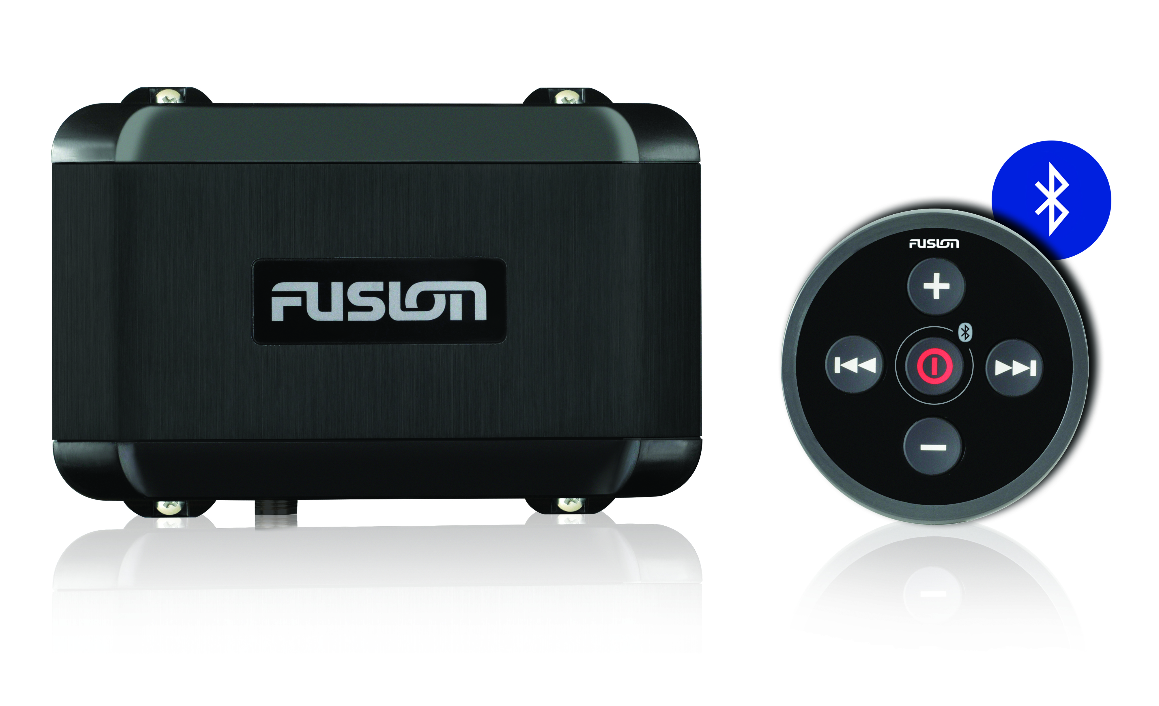 fusion ms bb100 stereo unit with remote