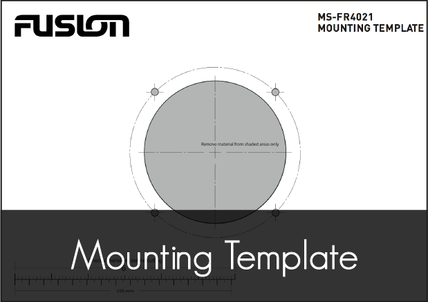 fusion ms fr4021 speaker mounting template