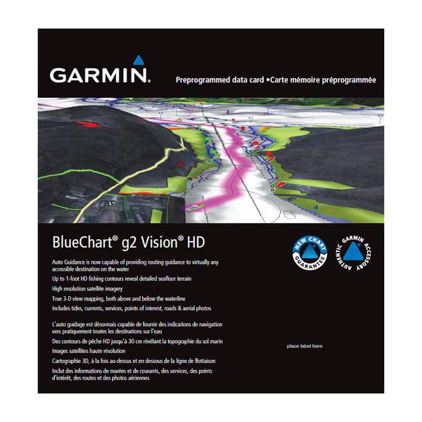 garmin bluechart g2 vision hd charts
