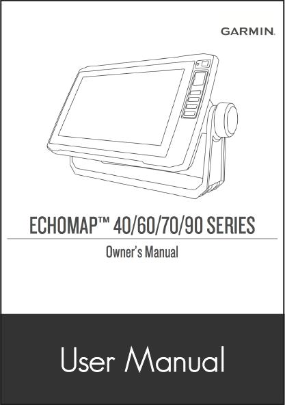 Garmin ECHOMAP Plus 45cv on