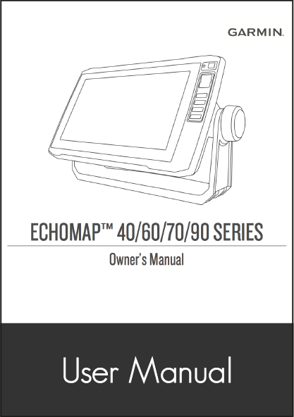 garmin echomap plus user manual