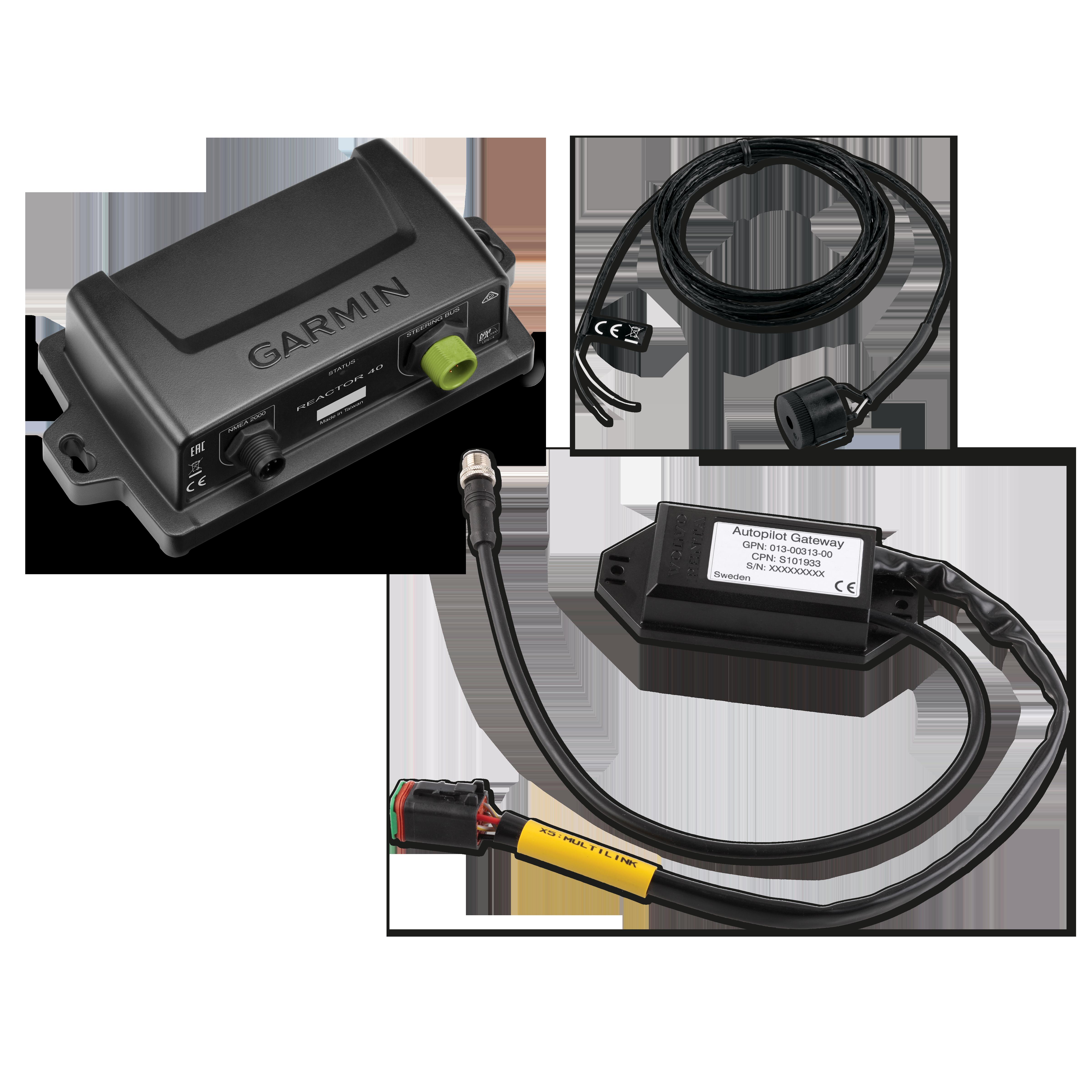 Garmin Reactor 40 Steer By Wire For Volvo Penta 2000 Wiring Diagram Autopilot