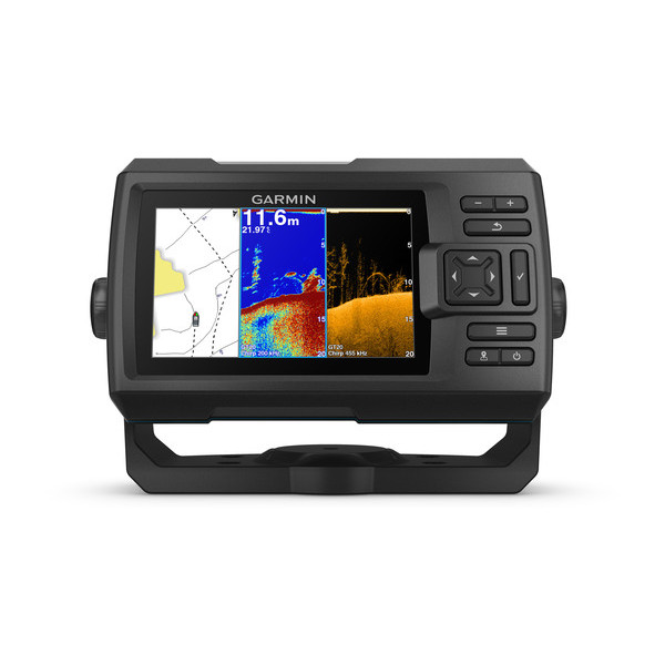 garmin striker plus 5cv fishfinder front