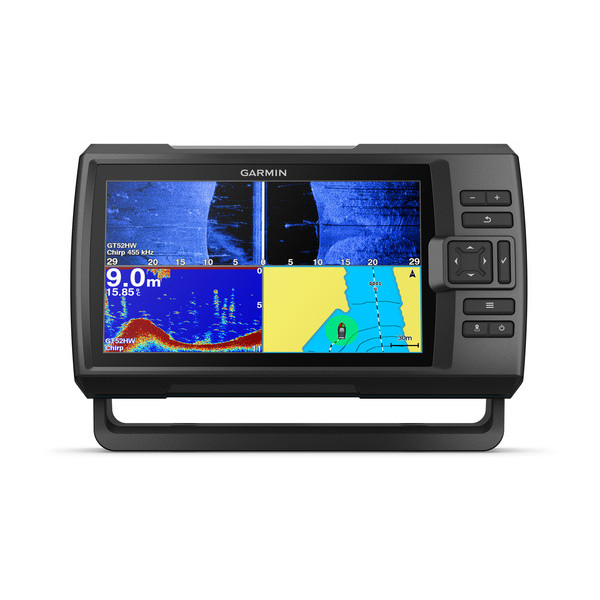 garmin striker plus 9sv fishfinder front