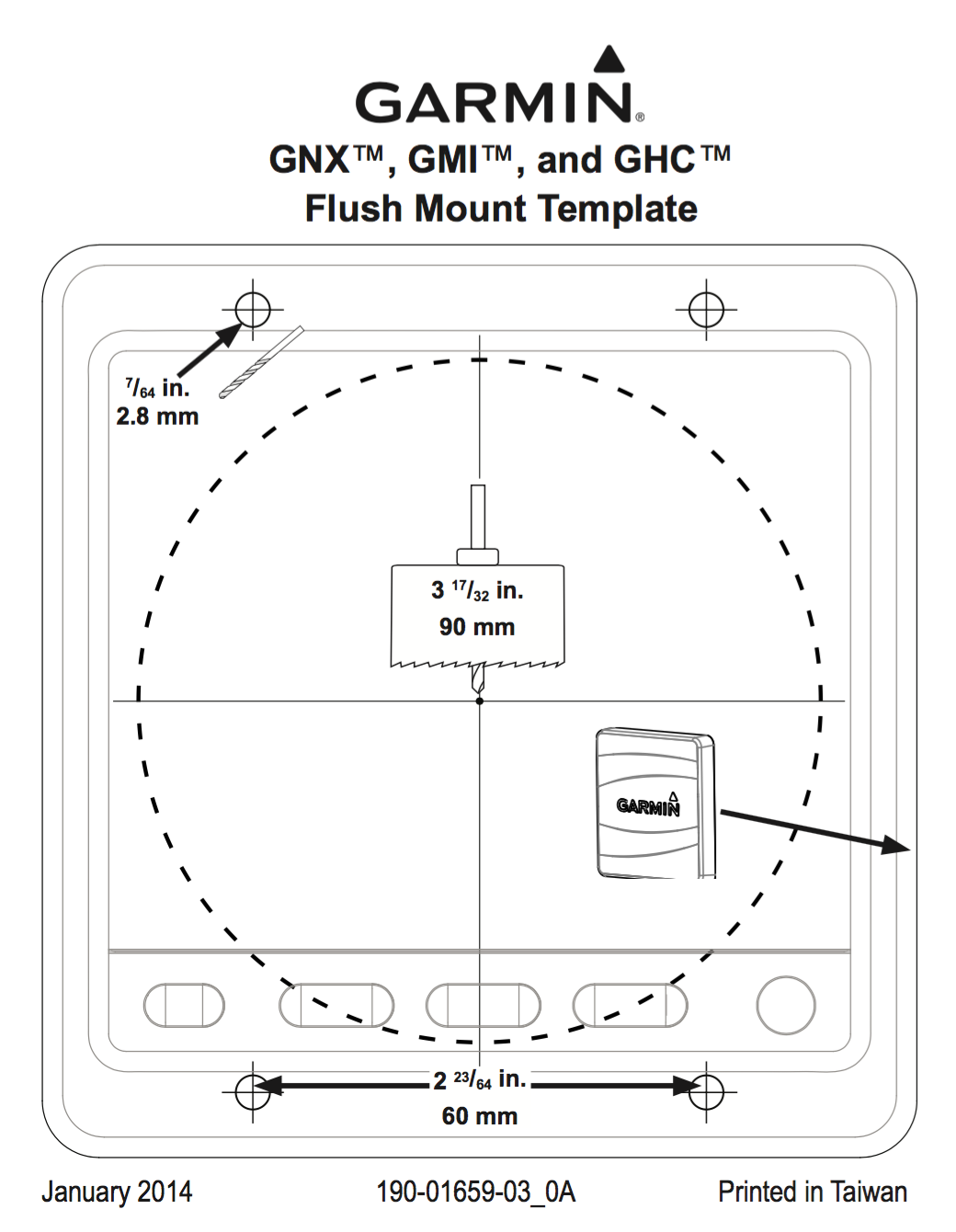 gnx gmi ghc flush mount template