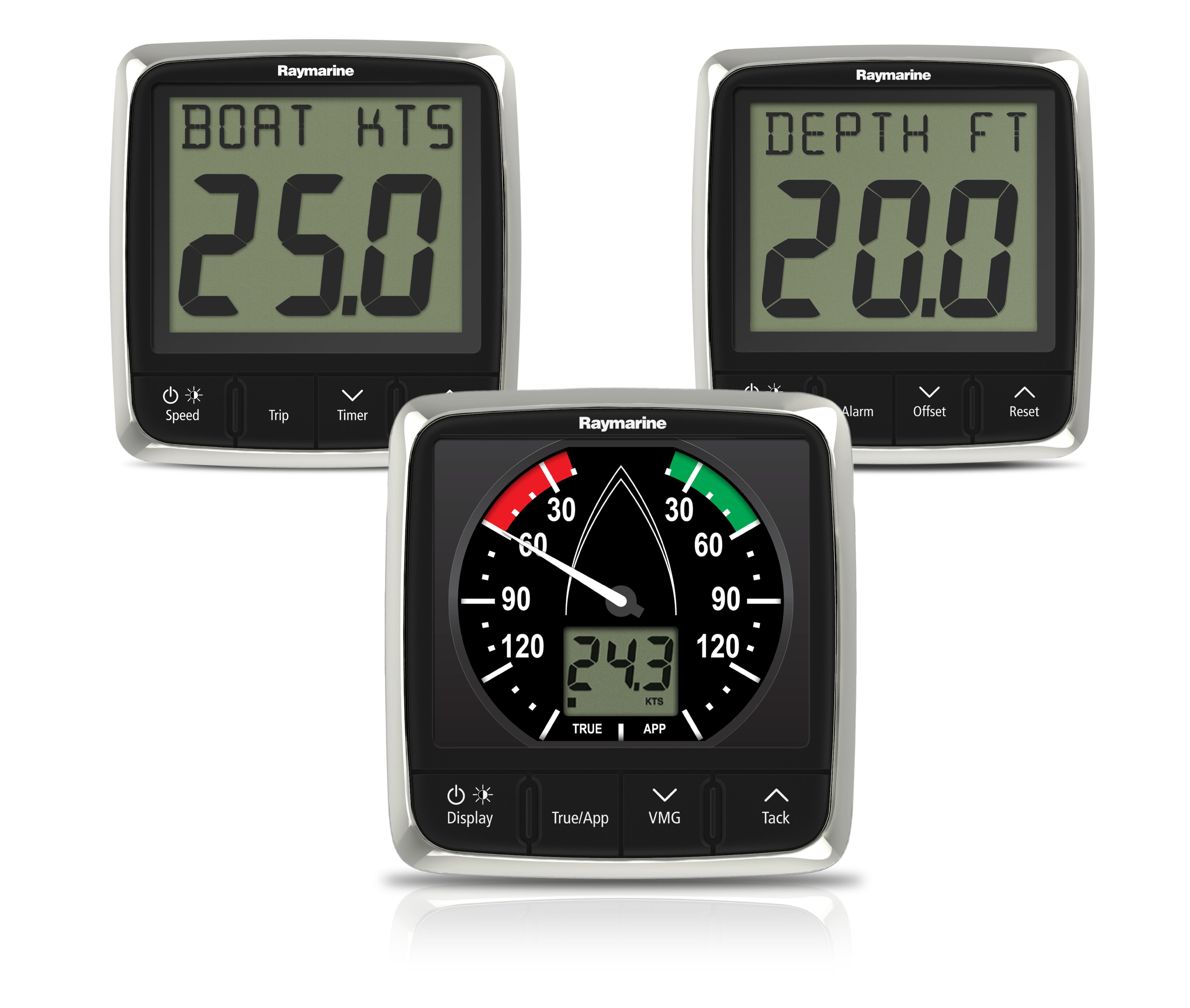 i50 i60 wind speed depth instrument pack