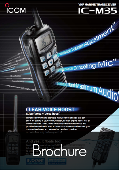 ic m35 product leaflet