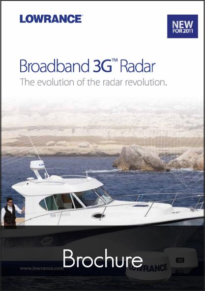 lowrance broadband radar 3g brochure