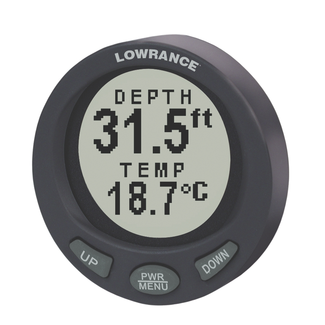 lowrance lst 3800 depth temp 2 inch gauge