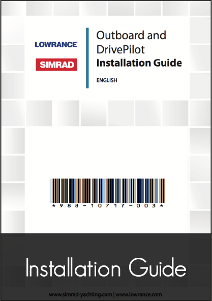 lowrance outboard drivepilot autopilot installation guide