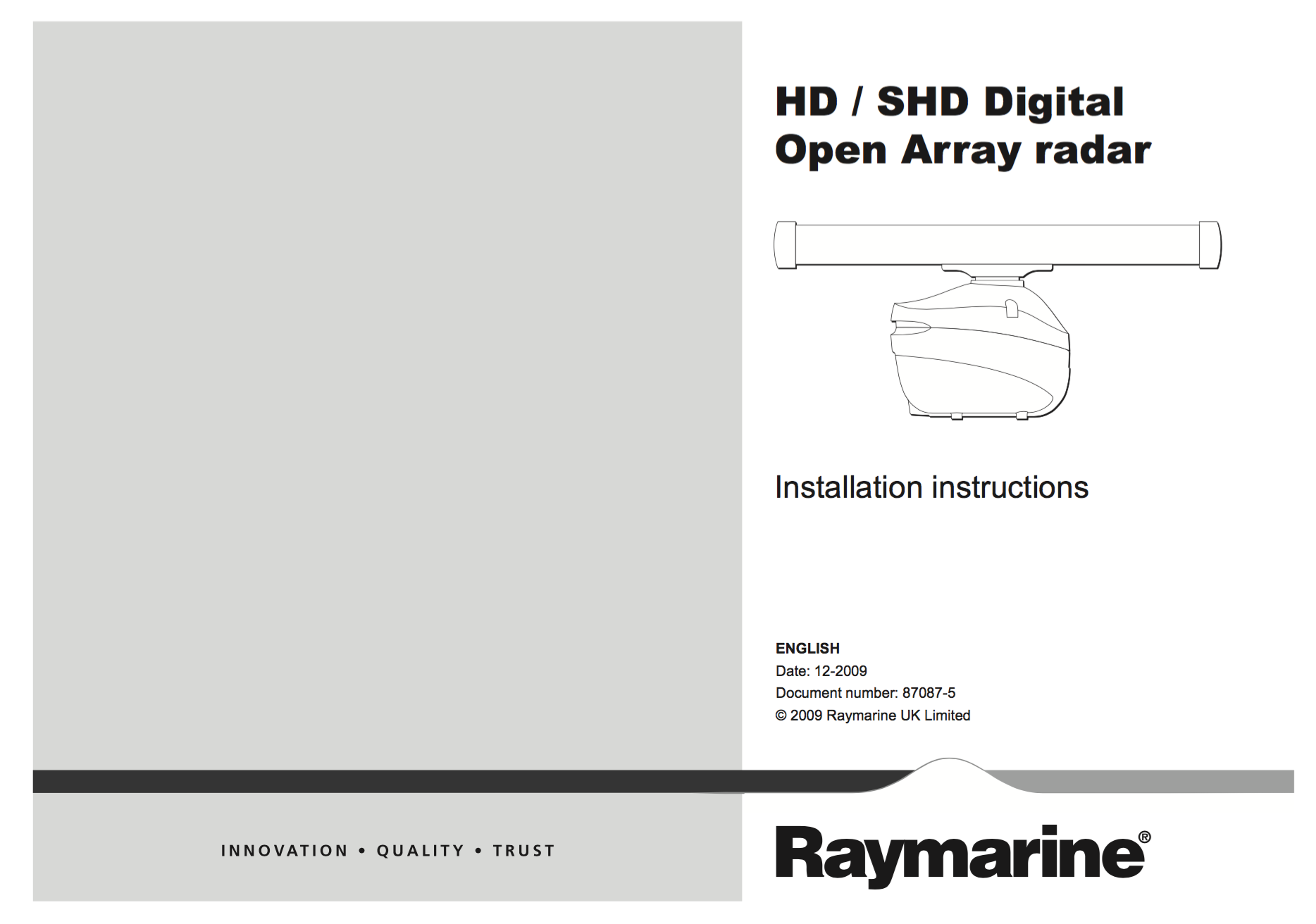 open array hd colour mounting template