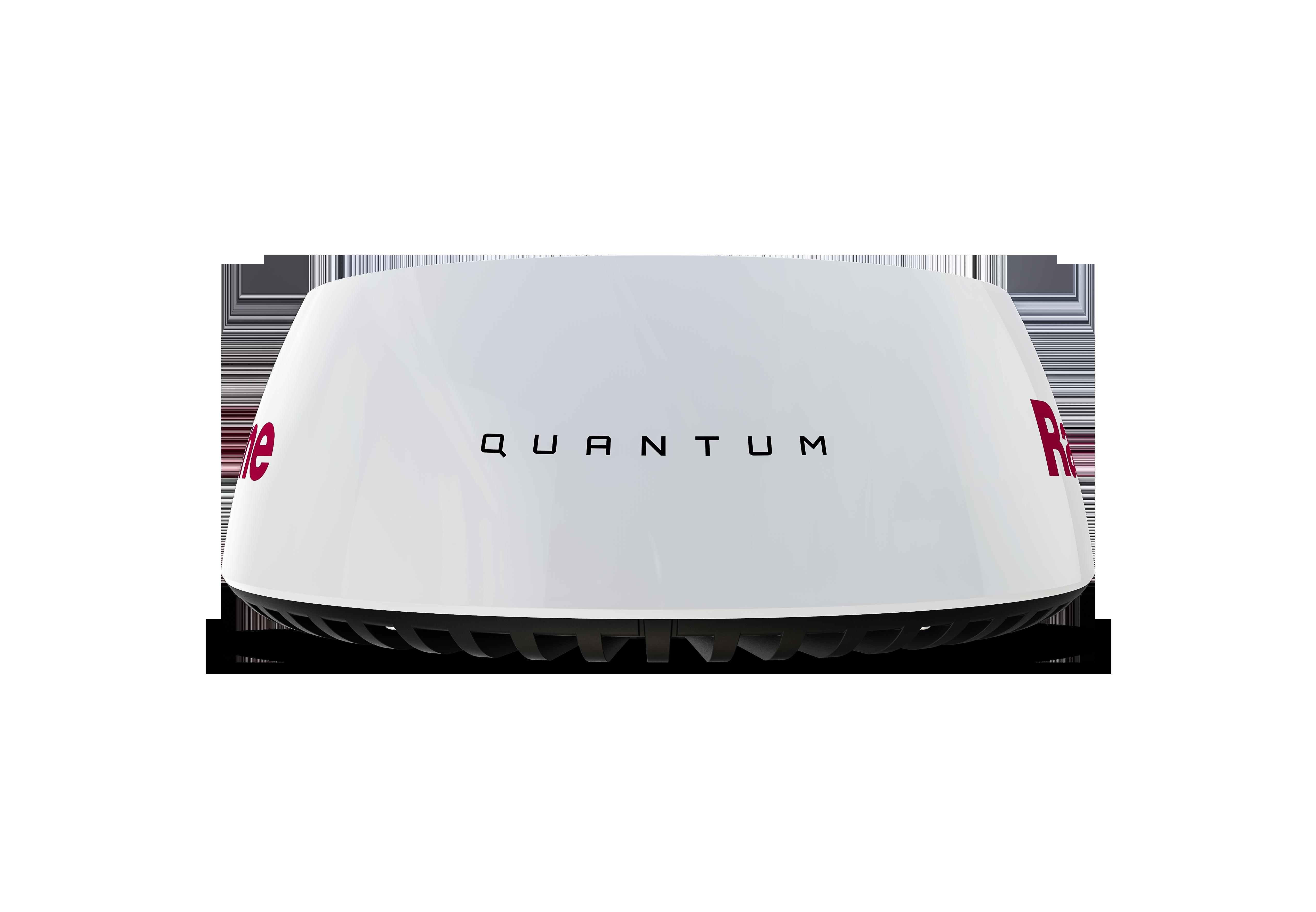 quantum radar front view