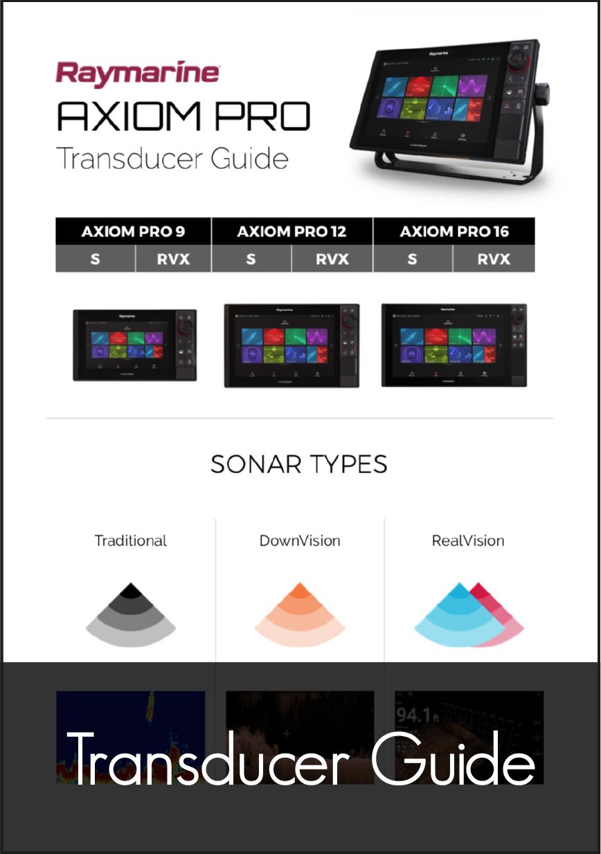 raymarine axiom pro transducer guide