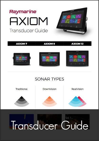 raymarine axiom transducer guide