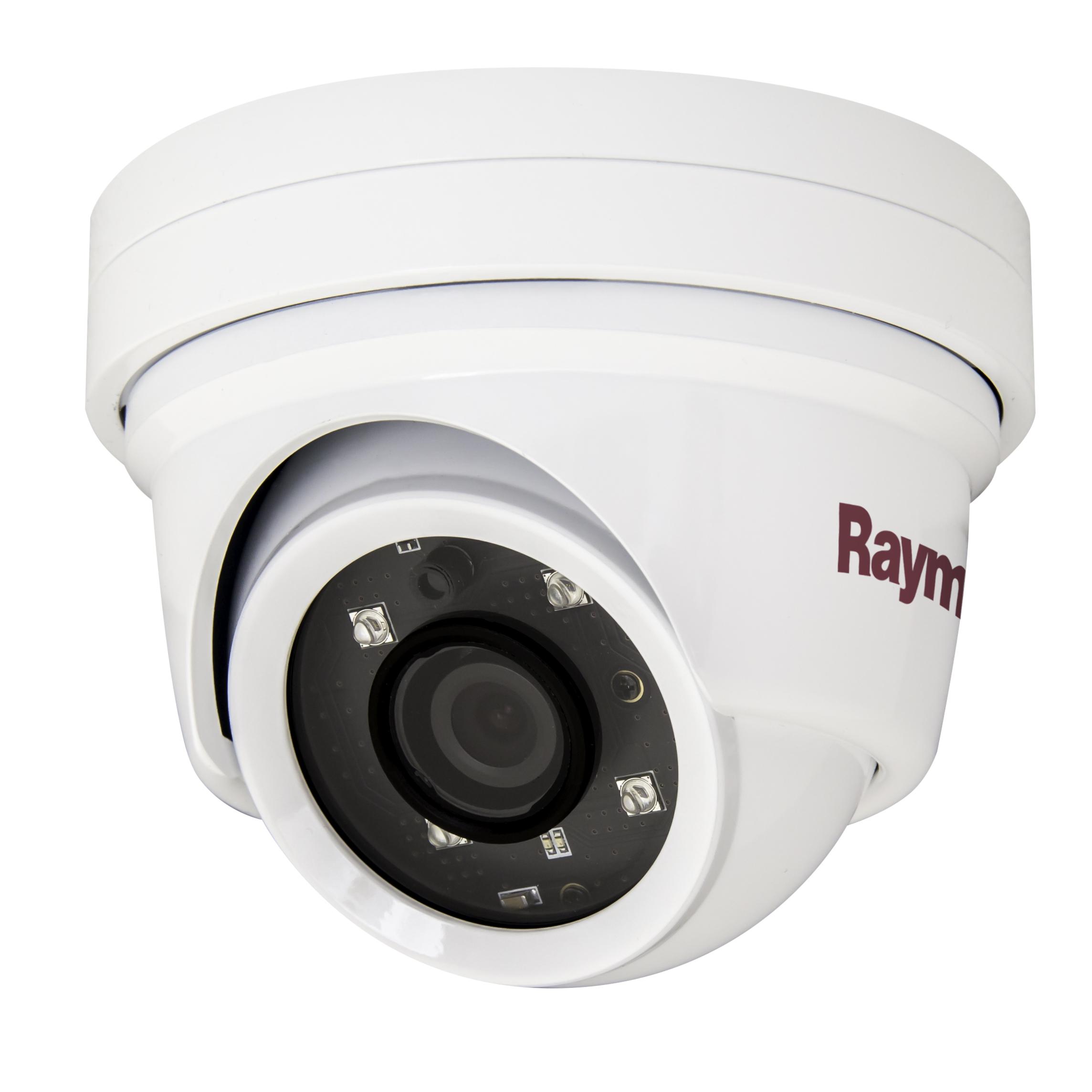 raymarine cam220 ip dome night day marine camera