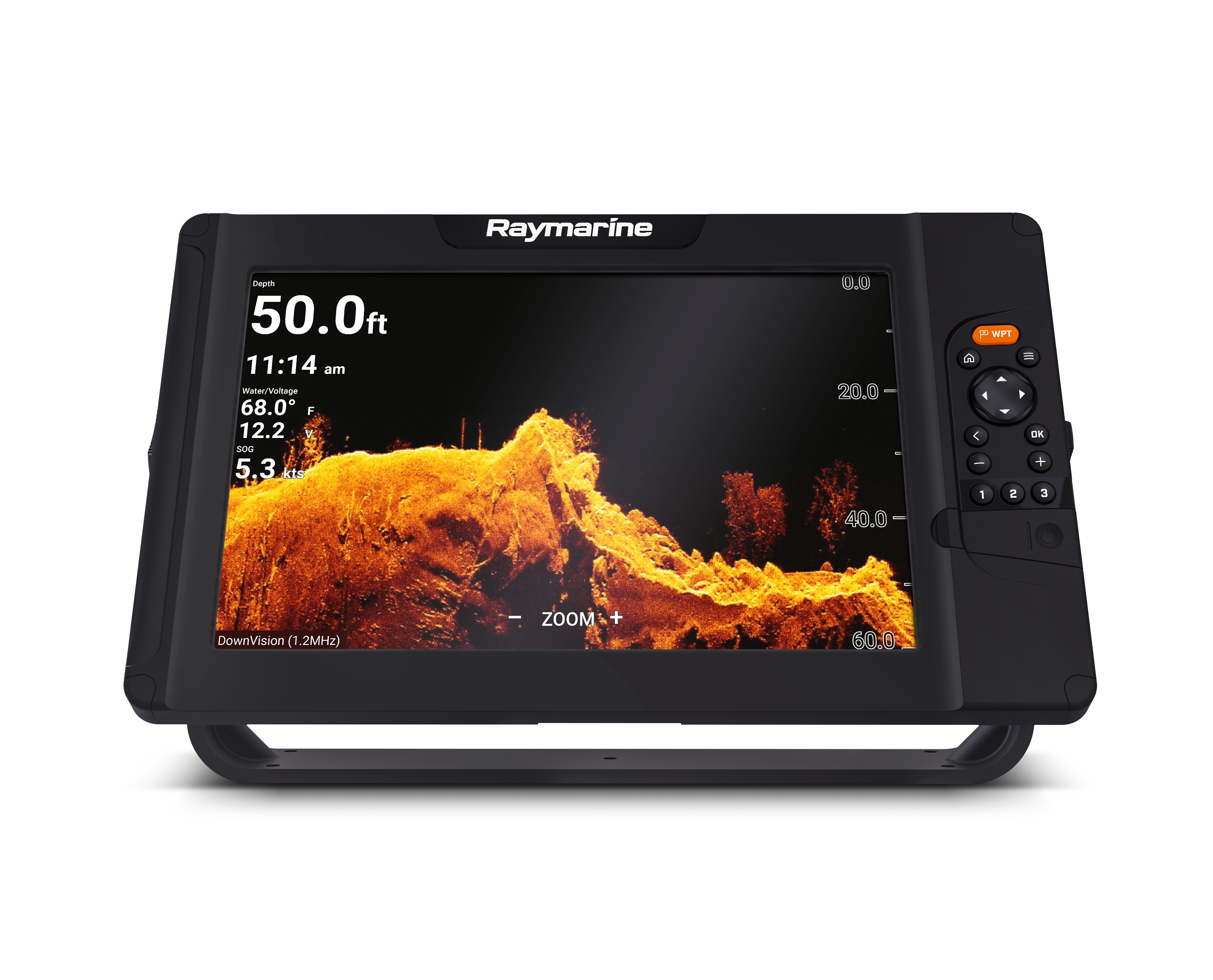 raymarine element 12 hypervision front