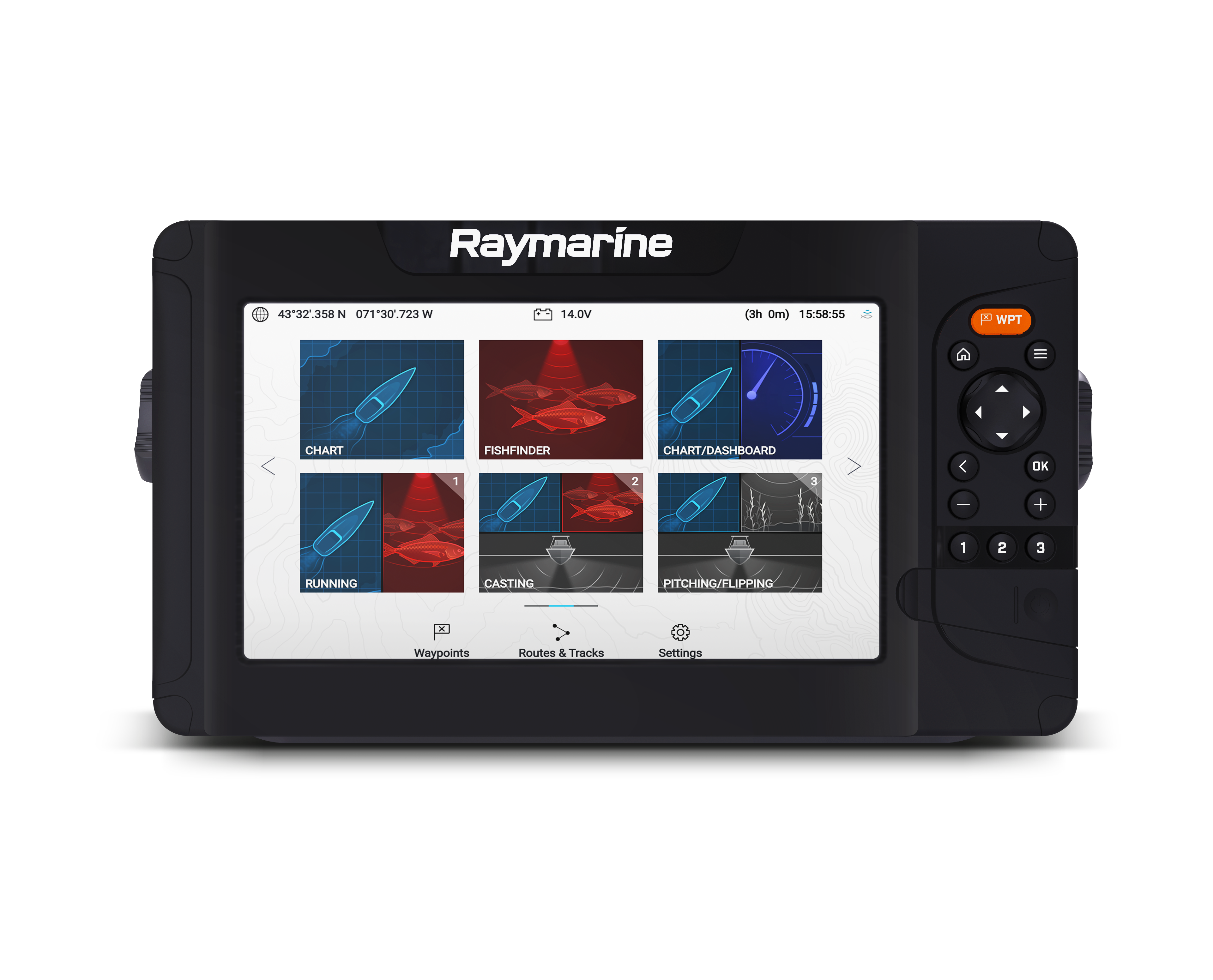 raymarine element 7 home front