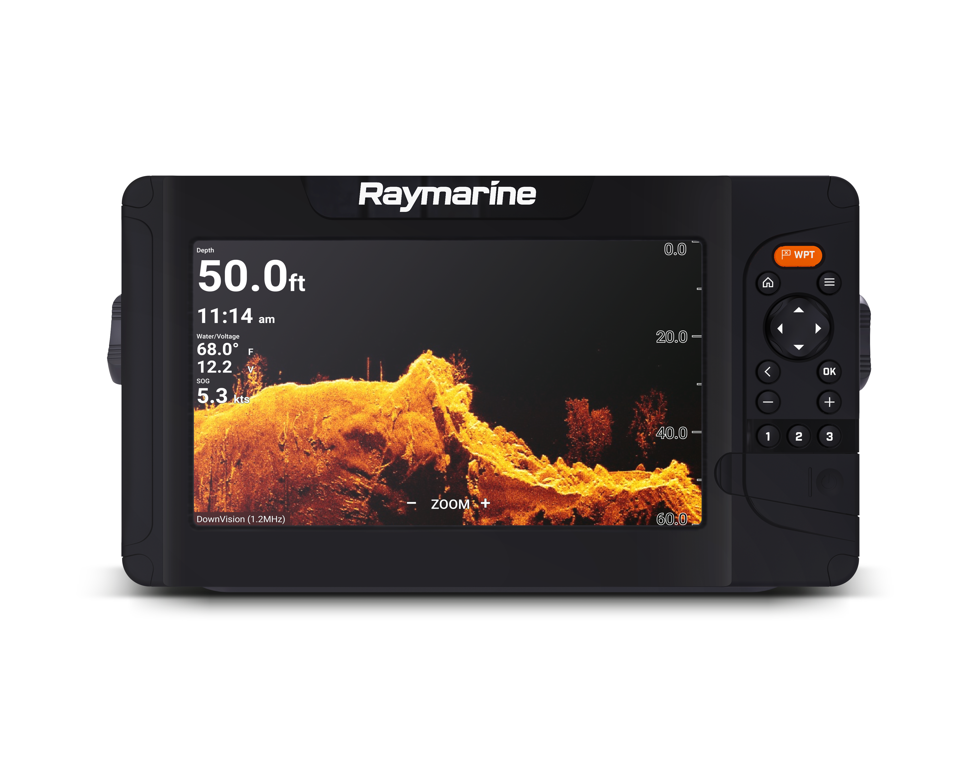 raymarine element 9 hypervision front