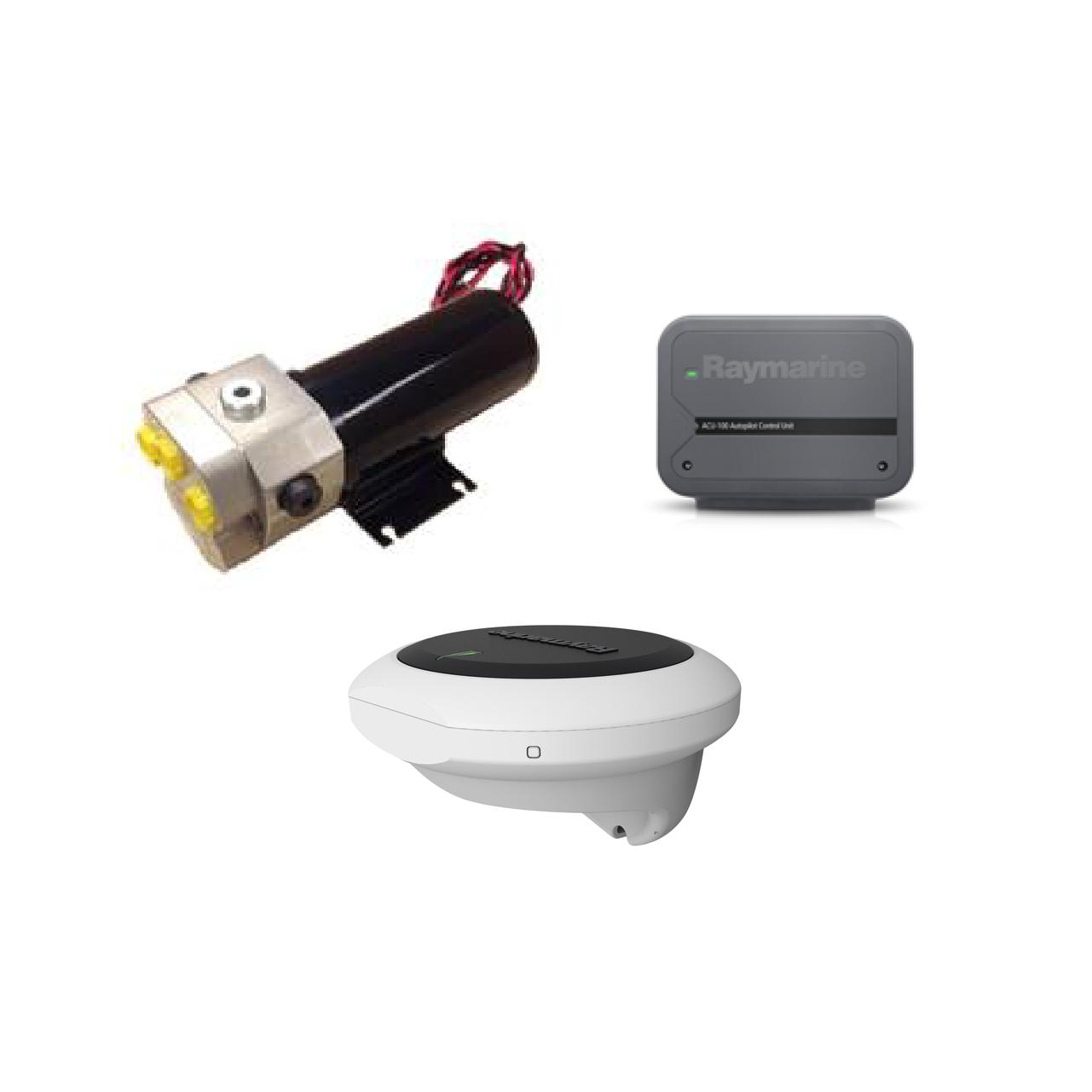 raymarine evolution hydraulic pilot-acu 100 0.5 lhydraulic pump
