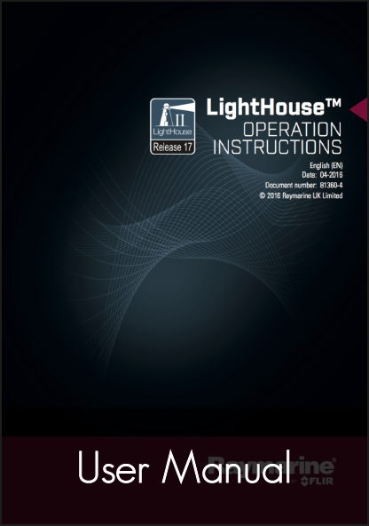 raymarine lighthouse 17 multifunction display user manual