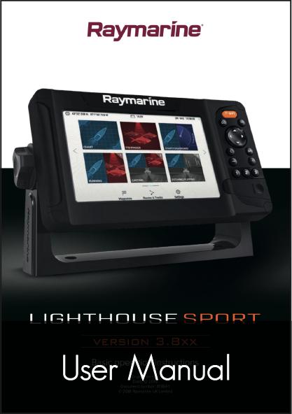 raymarine lighthouse sport element user manual