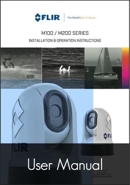 raymarine m100 m200 thermal camera user manual