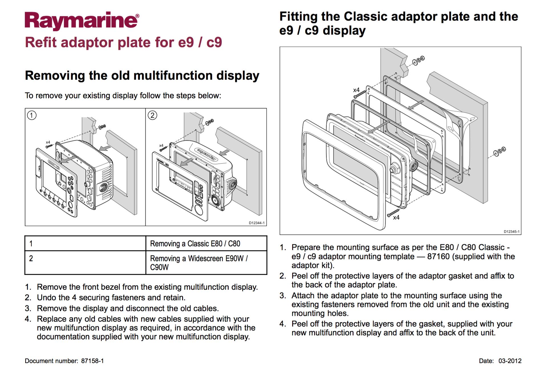 Raymarine C80 Wiring Diagram Libraries Radar