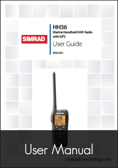 simrad hh36 wireless vhf user manual