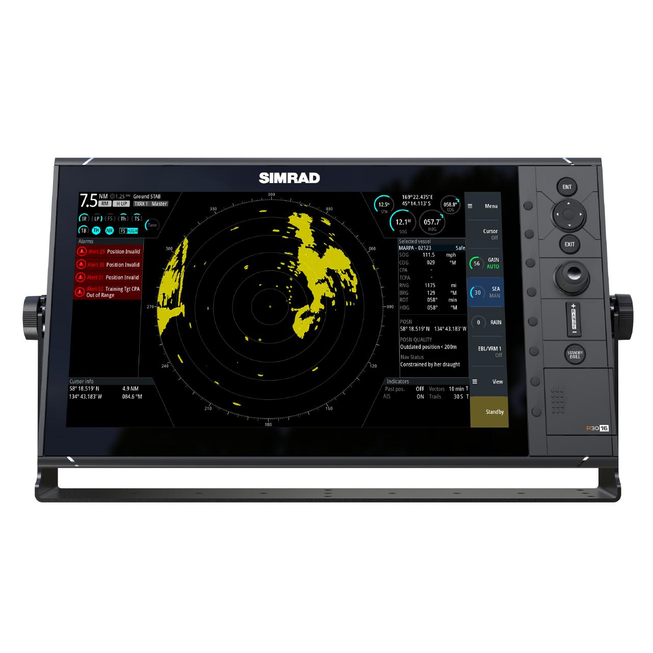 simrad pro marine radar r3016 large front view