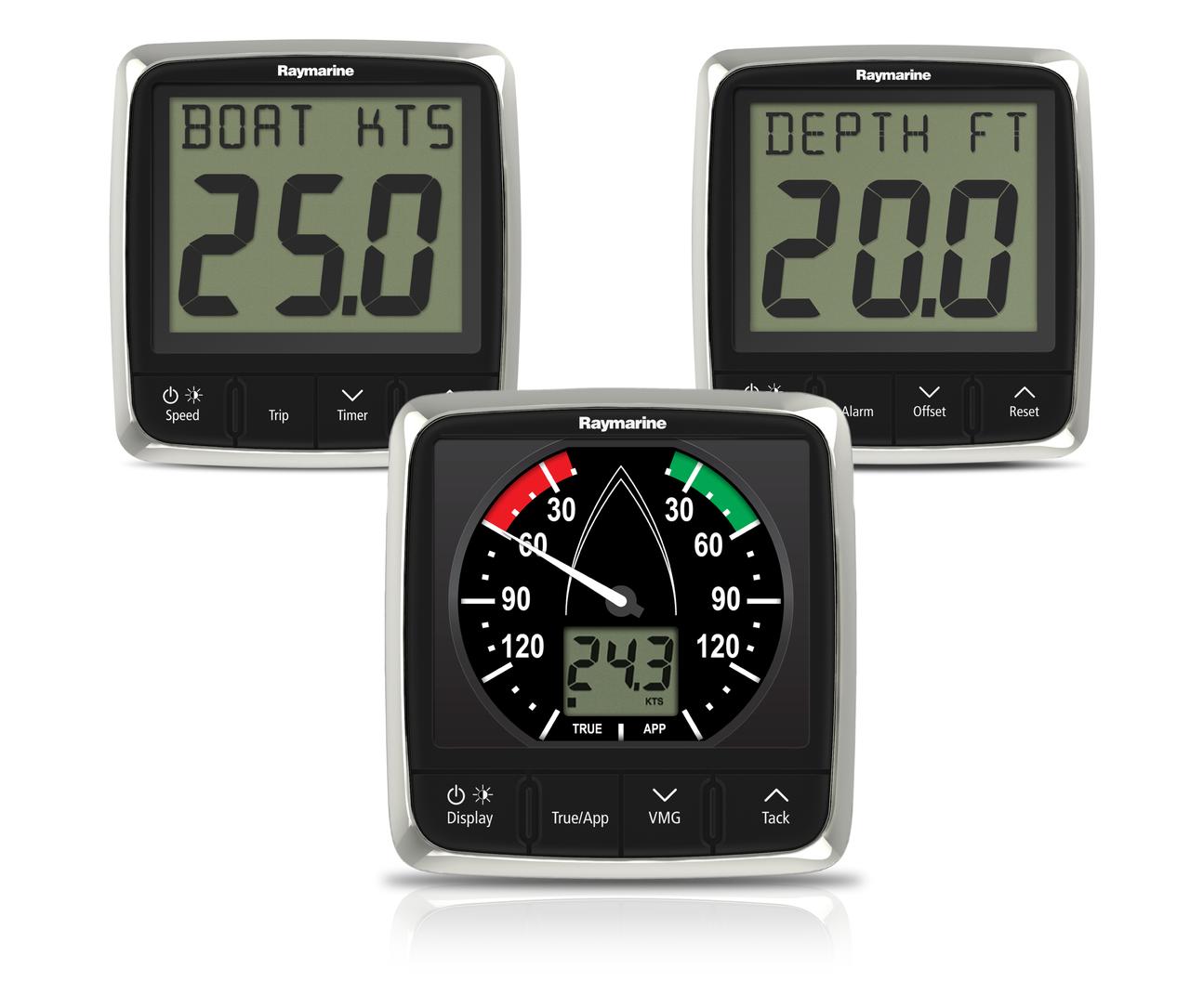 Raymarine i50 Speed Depth & i60 Wind Instrument Pack